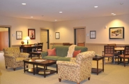 Common room area at Arbor Village