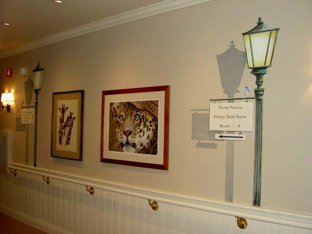hallway at children's hospice