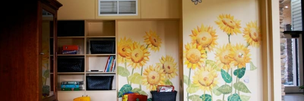Children's area at JW House