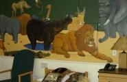 Animal-themed children's bedroom