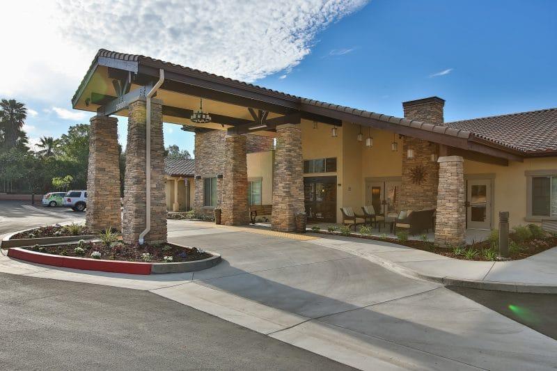 Senior living entryway