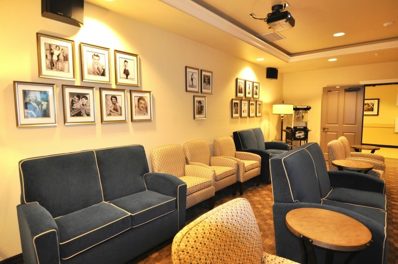 Movie Theater In A Senior Living Home