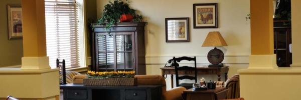 life skill stations at memory care facility