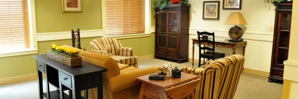 life skill station at memory care home