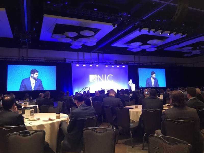 Image of Paul Ryan speaking at National Investment Center (NIC) conference