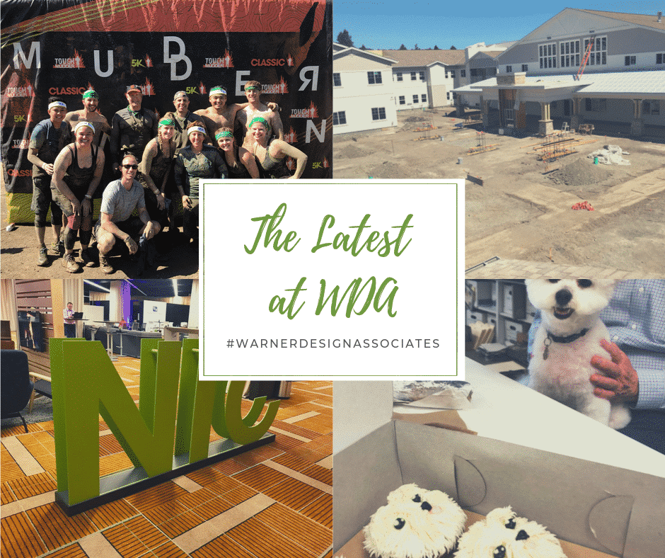 Collage of Warner Design Associates memories from Fall 2019